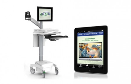 JEMS - Cart and iPad